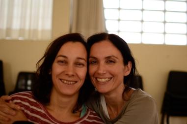 Beatriz González y Constanza Brncic
