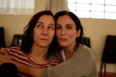 Beatriz Gonzalez y Constanza Brncic