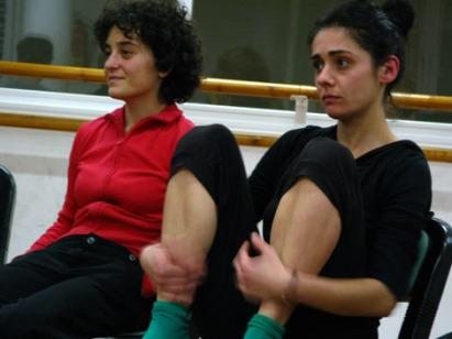 Mentxu y Sara Ojanguren