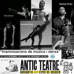 Impros música dansa collage